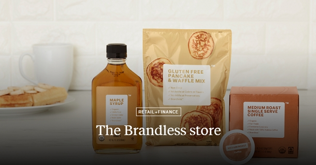 The Brandless store