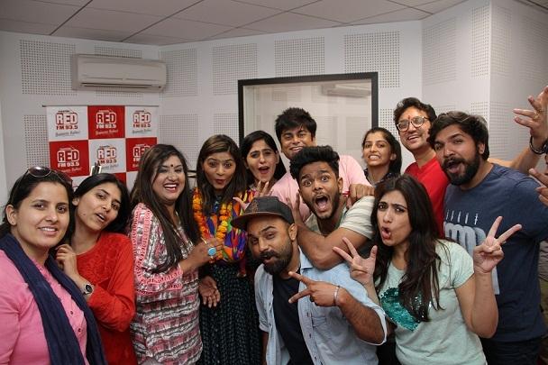 93.5 RED FM unveils its RJ line
