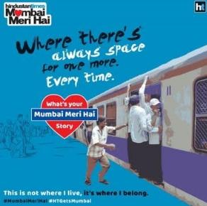 Hindustan Times revs up love for Mumbai with #MumbaiMeriHai