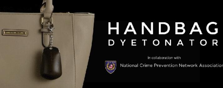 Sportswear brand Ash Be Nimble unveils crime-busting Handbag Dyetonator