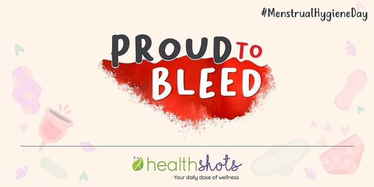 HT Health Shots Celebrates Menstrual Hygiene Day with #ProudToBleed Awareness Drive and Period Tracking App
