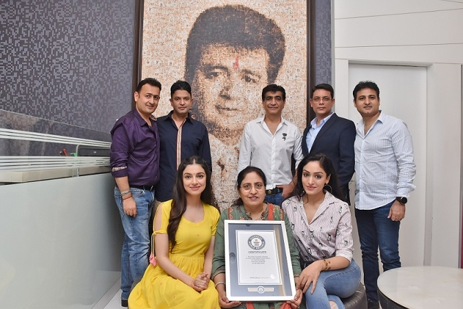 T Series CMD Bhushan Kumar receives offical certifcate from Guinnes World Records