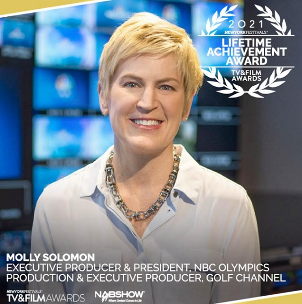New York Festivals Honors NBC Sports' Molly Solomon with the 2021 Lifetime Achievement Award