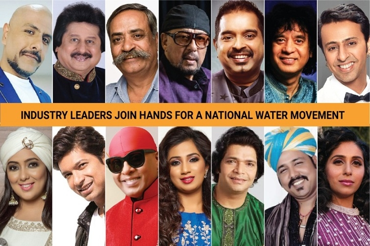 Music industry leaders join hands for a national water movement