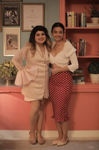 """""""My husband fell in love with my careless way of eating,"""" says Radhika Aapte on TLC's Midnight Misadventures with Mallika Dua"""