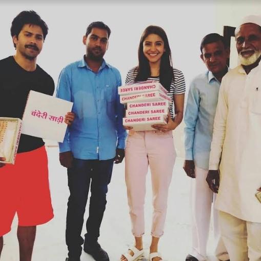 Varun-Anushka signed as ambassadors of Skill India Campaign