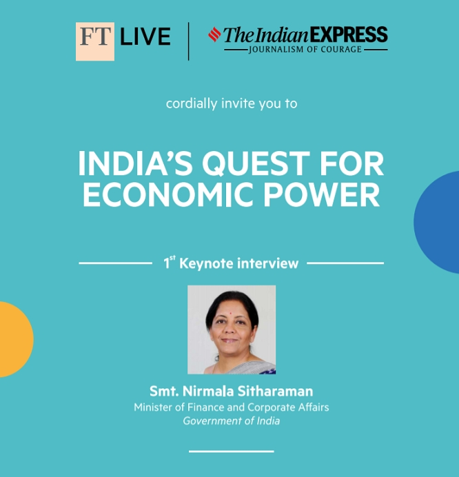 The Indian Express and the Financial Times announce event partnership
