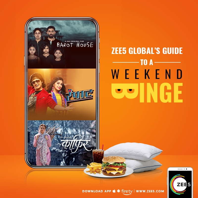 ZEE5 Global's Guide to a Weekend Binge