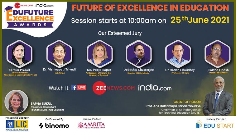 Zee Digital Announces The Edufuture Excellence Awards
