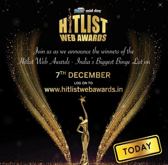 Radio City & Mid-Day Crown India's Favourite Web Stars At The Hitlist Web Awards 2019- 2020