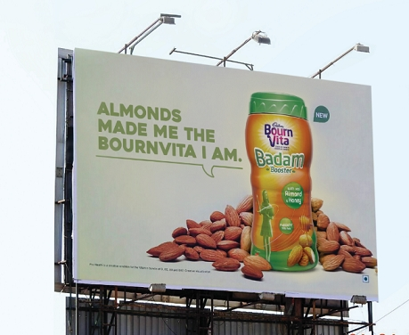Posterscope creates high decibel campaign for Bournvita's Badam Booster