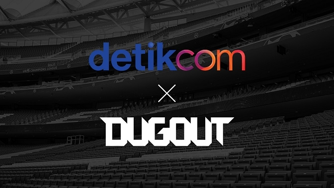 Dugout partners with DETIK in Asia-Pacific
