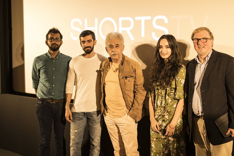 Half Full starring veteran Naseeruddin Shah and Vikrant Massey wins major accolade at ShortsTV's Best of India Short Film Festival 2019 in Los Angeles