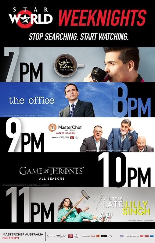 Star World Has Got All Your Weeknights Sorted