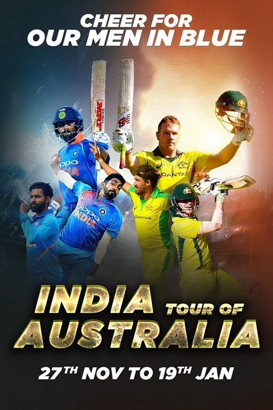 India Tour of Australia goes LIVE on SonyLIV; Scam 1992 travels South along with the host of other shows