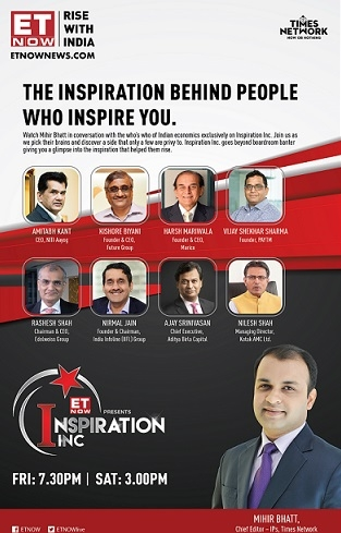 ET NOW launches 'Inspiration Inc'
